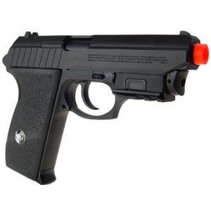 WG Airsoft Pistol 1 WG m84 full metal co2 airsoft pistol - black/sliver(Airsoft Gun)