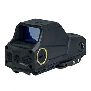 UELEGANS Rifle Scope 1 UELEGANS Red Dot Sight Scope, Rechargeable USB Holographic Optical Sight, 20Mm Reflex Sight for Rail Mounting, Suitable for Outdoor Hunting