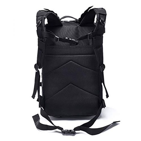 MilSurplus Tactical Backpack 3 Military Tactical Backpack for Men 40L Large Hiking Rucksack Pack Army Molle Bag for Hunting Travel Camping School