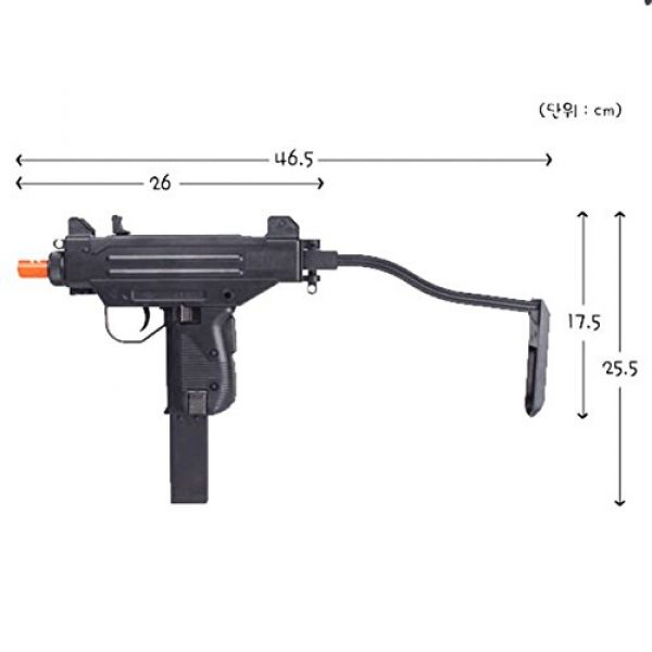 "Gun Storm Airsoft Rifle 3 10"" Uzi Pistol Tactical Airsoft Pistol Toy BB Gun For Ages 14 +"