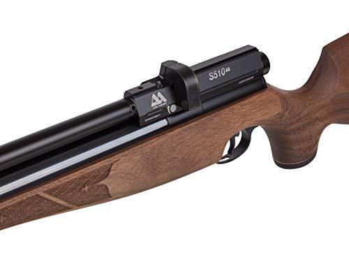 Air Arms Air Rifle 7 Air Arms S510 XS FAC .22 Caliber Sidelever Regulated PCP Air Rifle Carbine, Walnut