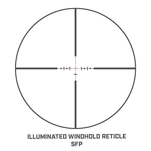 Bushnell Rifle Scope 6 Bushnell 4.5-18x40mm AR Optics, Illuminated_AR741840EI