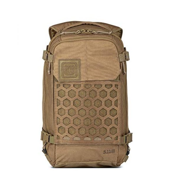 5.11 Tactical Backpack 1 5.11 Tactical Men's AMP12 Essential Backpack, Includes Hexgrid 9x9 Gear Set, 25 Liters, 1050D Nylon, Style 56392