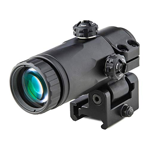 Meprolight Rifle Scope 1 Meprolight MX3-T 3X Magnifying Scope with Tactical Flip Mount