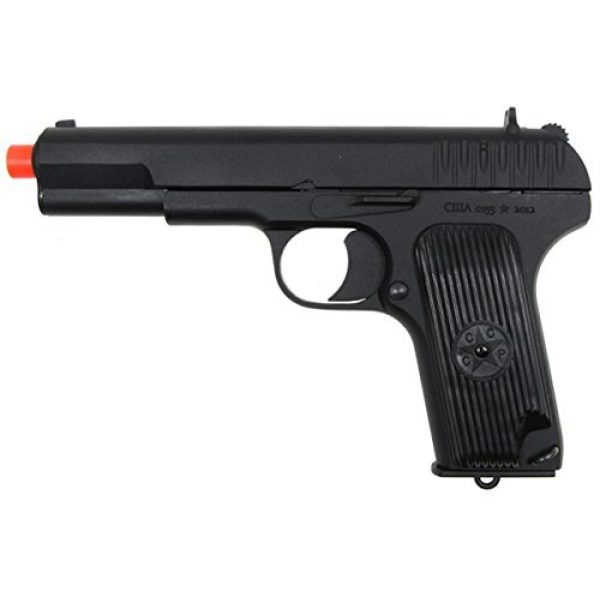 SRC Airsoft Pistol 2 SRC tt33 black star gas blowback full metal with gun case by src(Airsoft Gun)