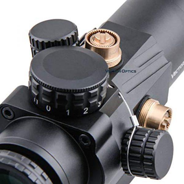 Vector Optics Rifle Scope 4 Vector Optics Calypos 3x32mm, 1/2 MOA, Red Illuminated BDC Reticel, Second Focal Plane (SFP) Compact Tactical Prism Riflescope