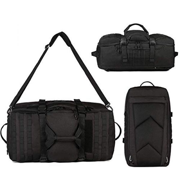 CREATOR Tactical Backpack 5 CREATOR 60L Tactical Backpack Molle Travel Luggage Bags Camping Daypack Duffle Bag
