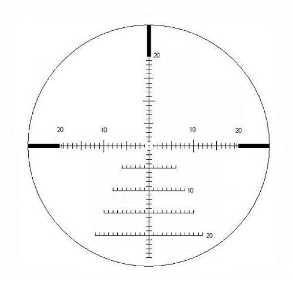 Valdada Rifle Scope 2 Valdada Crusader 5.8 40 x 56 FFP Scope New Mil/Mil