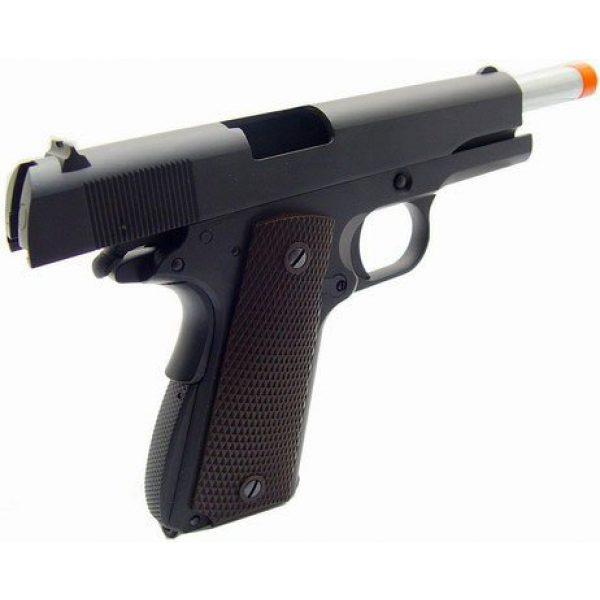 WE Airsoft Pistol 3 WE hi-capa 191 gas blowback full metal - black(Airsoft Gun)