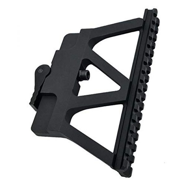 DJym Rifle Scope Mount 1 DJym Scope Universal Side Rail Aluminum Alloy 20Mm Suitable for All Kinds of Sights Rail