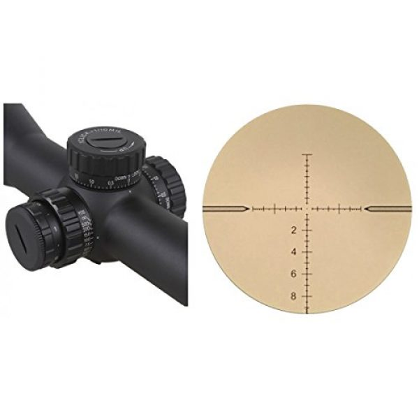 Vector Optics Rifle Scope 6 Vector Optics Taurus 3-18x50mm First Focal Plane (FFP) 1/10 MIL Tactical Riflescope with Red Illuminated Reticle, Free 30mm Mount Rings, Lens Covers and KillFlash