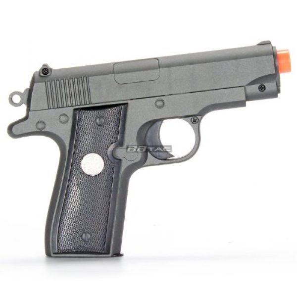 BBTac Airsoft Pistol 2 bbtac bt-g2 full metal slide body sub compact 240 fps spring airsoft gun and tactical skeleton hammer(Airsoft Gun)