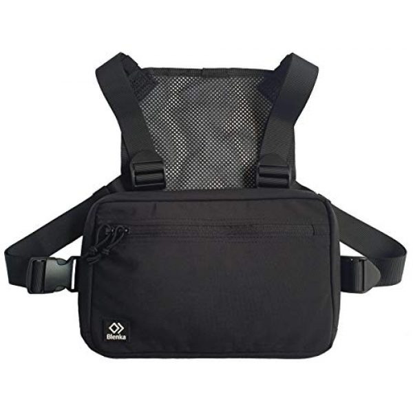 Blenka Tactical Backpack 1 Blenka Lightweight Chest Pack | Front Bag design great for Hiking, Running, Cycling, Climbing, Travelling and Tactical