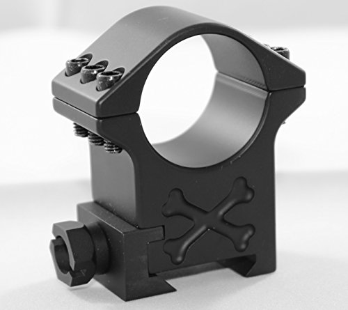 Talley Rifle Scope Ring 1 34mm Tactical Ring (Black Armor) (Exra High) (6 Screw)