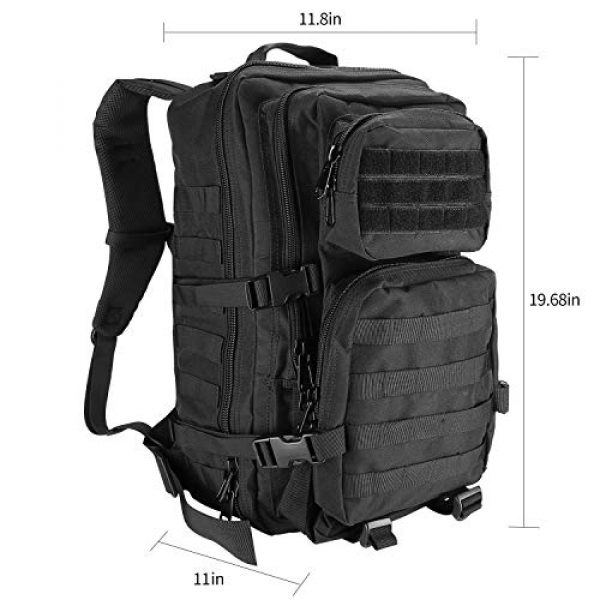 ProCase Tactical Backpack 3 ProCase Tactical Backpack Bag 40L Large 3 Day Military Army Outdoor Assault Pack Rucksacks Carry Bag Backpacks