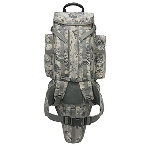 East West U.S.A Tactical Backpack 3 East West U.S.A RT538/RTC538 Tactical Molle Military Assault Rucksacks Backpack, ACU