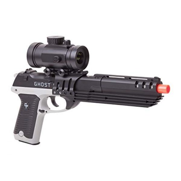 Game Face Airsoft Pistol 1 GameFace GFM39PG Ghost Mayhem Spring-Powered Single-Shot Airsoft Pistol