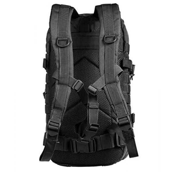 Tactical Pro Supply Tactical Backpack 2 Tactical Pro Supply Kevlar Ranger Back Pack (Black)