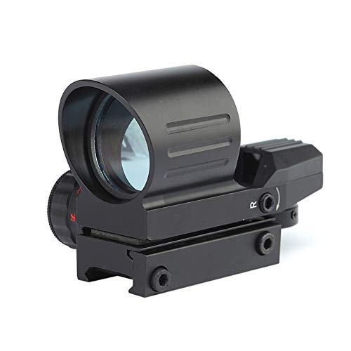 Without Rifle Scope 1 Toy Gun Sight Red dot Sight Magnification Color Black
