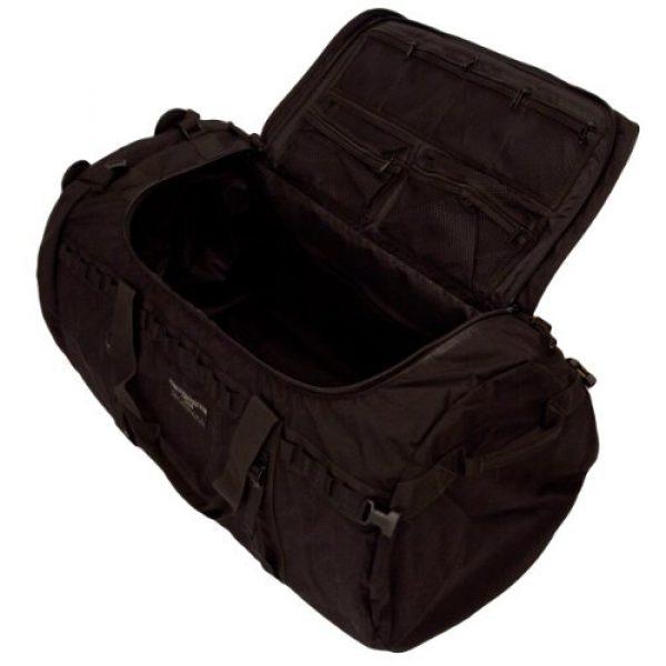 ForceProtector Gear Tactical Backpack 3 Hybrid Deployment Bag, Black