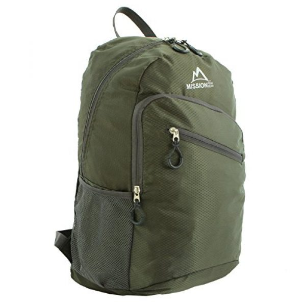 Mission Peak Gear Tactical Backpack 2 Mission Peak Gear Lite 1800 Foldable Packable Hiking Backpack Daypack, Ultra Lightweight, Durable Light Backpack, Camping, Outdoor, Travel, Biking, School, Carry On Backpack