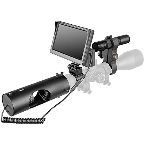 TTHU Rifle Scope 1 TTHU Rifle Scopes DIY Digital Night Vision Scope for Rifle Hunting with HD Camera and 5-Inch Portable Display Screen for Hunting Scopes