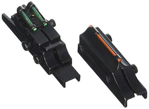TRUGLO Rifle Sight 1 TRUGLO Pro Series Slug Gun 3 Dot Sights with Elevation Ramp for Ventilated Rib Shotguns