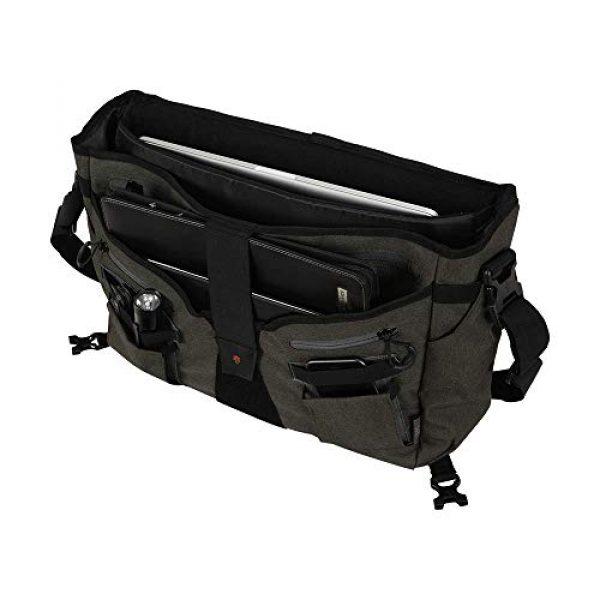 Allen Company Tactical Backpack 3 Allen Company Pride6 Base Tactical Messenger Bag, Courier Bag, Shoulder Bag, with Laptop and Conceal Carry Pocket, Internal Pockets, Tightening System, Green/Black