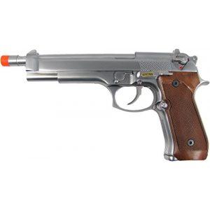 WE Airsoft Pistol 1 WE m92 long-a gas/co2 blowback full metal - silver(Airsoft Gun)