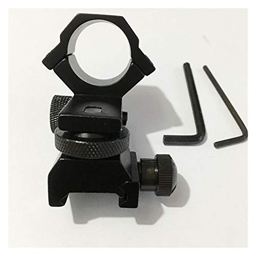 Without Rifle Scope 3 Toy Gun Sight Red dot Sight Magnification Adjustable Low/high Profile Scope/Torch Mount/Weaver Mount (Color : High)