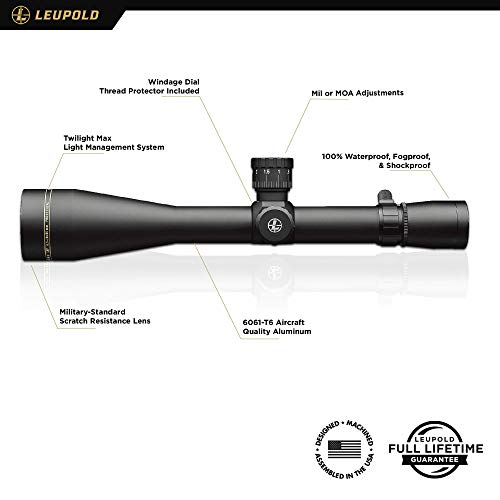 Leupold Rifle Scope 2 Leupold VX-3i LRP 6.5-20x50mm Side Focus Riflescope