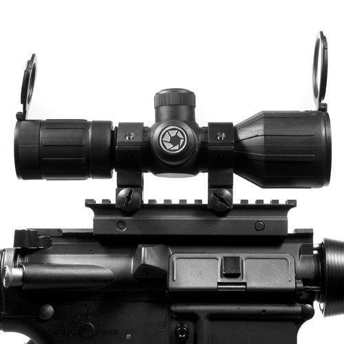 BARSKA Rifle Scope 2 BARSKA 3-9x40 Compact Contour IR 4A Mil Plex Riflescope