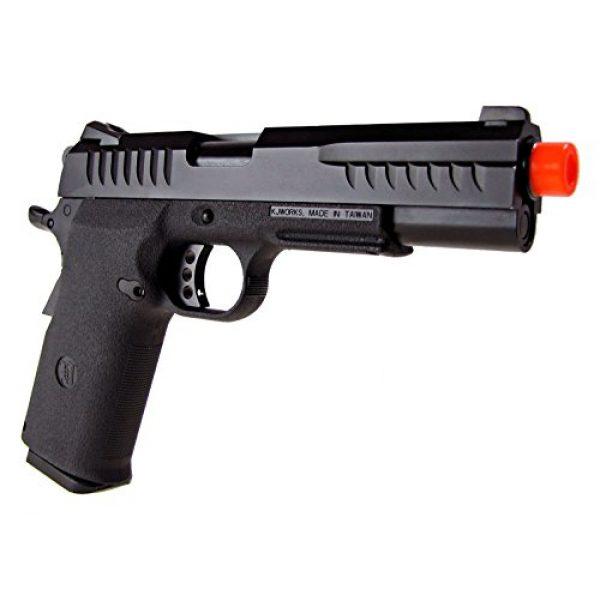 KJW Airsoft Pistol 3 KJW model-618 kp08 gas/co2 blowback full metal/black(Airsoft Gun)