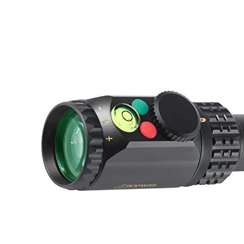 Sniper Rifle Scope 4 Sniper WKP 6-24x50mm SIDE FOCUS Scope Illuminated Mil-Dot Reticle