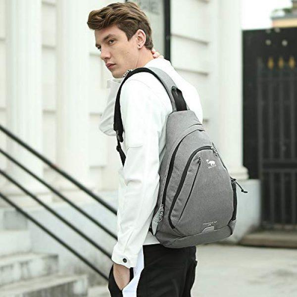 Kimlee Tactical Backpack 7 OIWAS One Strap Backpack for Men Single Strap Backpack Sling Bag Crossbody Shoulder Daypack for Boys Women