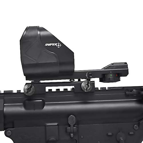 Sniper Rifle Scope 7 Sniper RD50L Red/Green Dot Sight Scope Fits 20mm Picatinny Rail