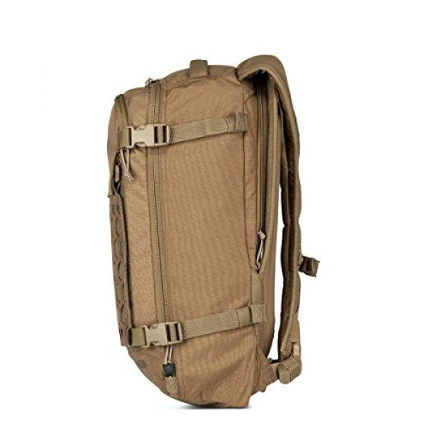 5.11 Tactical Backpack 5 5.11 Tactical Men's AMP12 Essential Backpack, Includes Hexgrid 9x9 Gear Set, 25 Liters, 1050D Nylon, Style 56392