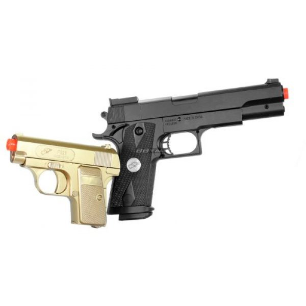 BBTac Airsoft Pistol 2 bbtac bt-p169(1+1) p169 airsoft pistol package, gold(Airsoft Gun)