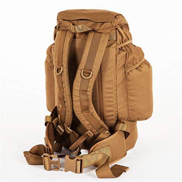 Snugpak Tactical Backpack 3 Snugpak Sleeka Force Backpack, Daypack with 2 Side Compartments, 35 Liter