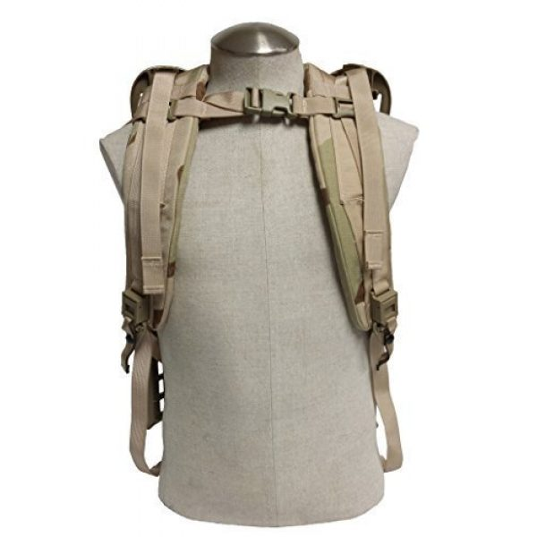 BAE SYSTEMS SPECIALITY DEFENSE SYSTEMS OF PENNSYLVANIA INC Tactical Backpack 2 BAE SYSTEMS SPECIALITY DEFENSE SYSTEMS OF PENNSYLVANIA INC USGI ACU Army Molle II Shoulder Straps (Frame) - Desert Camouflage