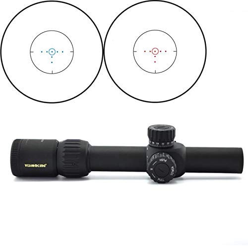 Visionking Rifle Scope 2 Visionking 1-6x24 FFP First Focal Plane Rifle Scope