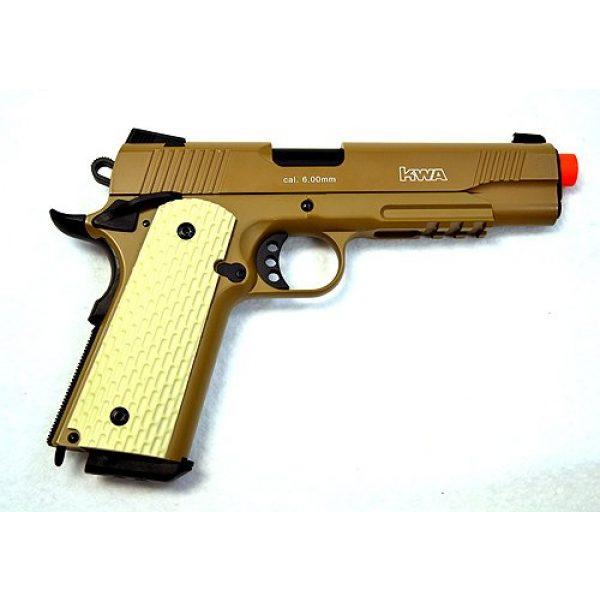 KWA Airsoft Pistol 2 KWA airsoft m1911 ptp mkii gas blow back pistol ns2 desert(Airsoft Gun)