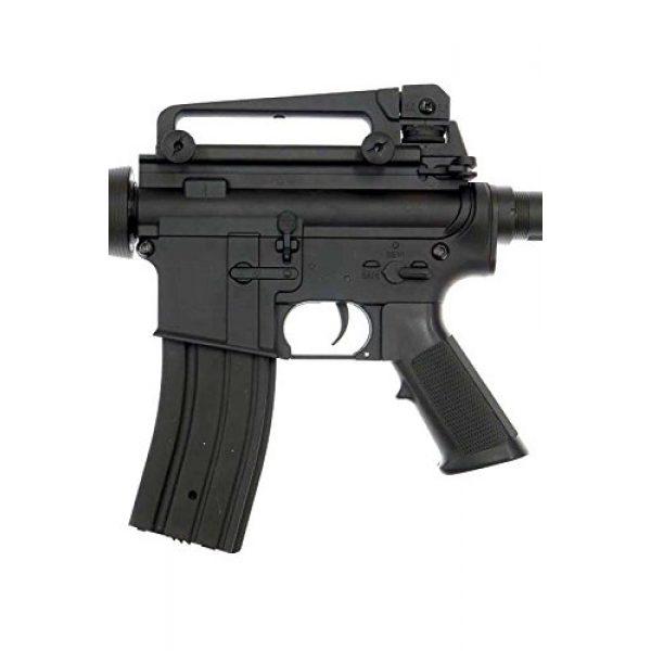 MetalTac Airsoft Rifle 6 MetalTac F6604 Carbine Electric AEG Full Metal Gearbox, Black