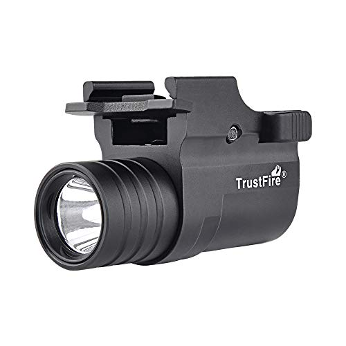 Acid Tactical Weapon Light 1 XP-G LED Rifle Shotgun Compact Tactical Flashlight 210 Lumens with Battery