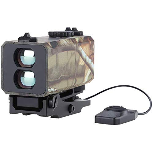 TTHU Rifle Scope 2 Tactical Outdoor Hunting Rangefinder Rifle Scope Sight Target Riflescope Mate Distance Meter 700M with Rail
