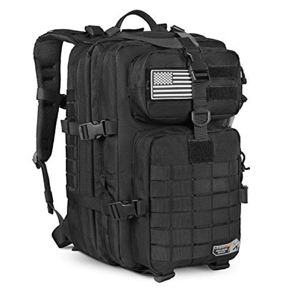 LeisonTac Tactical Backpack 1 LeisonTac 42L Tactical Backpack Military ISO Standard with Hydration Bladder Compartment