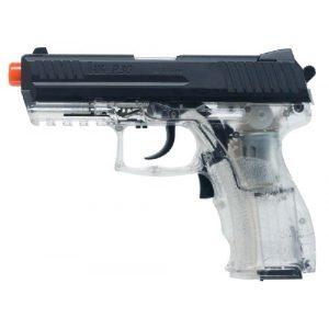 Elite Force Airsoft Pistol 5 HK Heckler & Koch P30 Electric Blowback 6mm BB Pistol Airsoft Gun, Clear