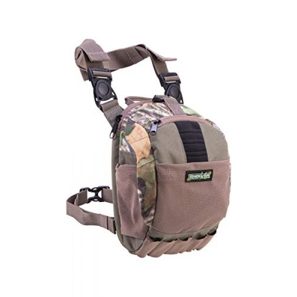 Allen Company Tactical Backpack 1 Allen Company Shocker Cut-N-Run Turkey Hunting Pack - 3in1 Functionality: Thigh Pack, Sling Pack, Chest Pack - Multi Functional -9 Features, Camo 19170 One Size