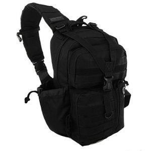NPUSA Tactical Backpack 1 NPUSA Mens Tactical Gear Molle Hydration Ready Sling Shoulder Backpack Daypack Bag
