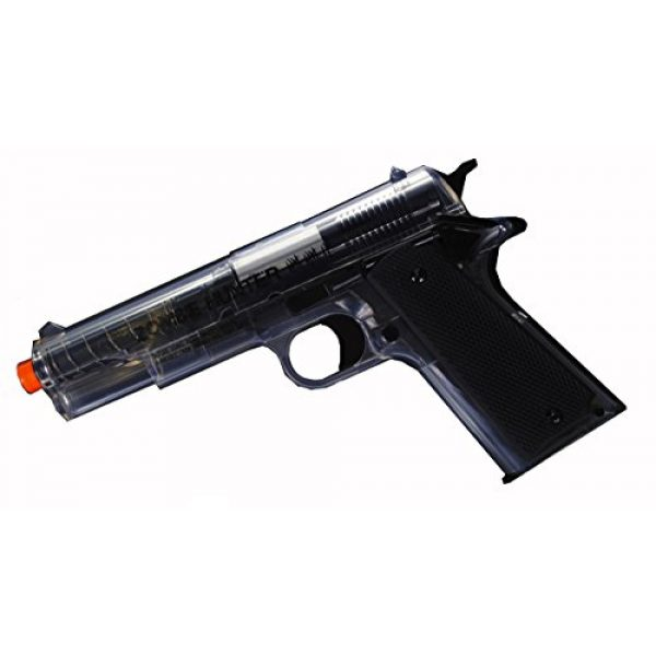 zombie hunter Airsoft Pistol 2 Zombie Hunter Target Pack with Airsoft Pistol and Accessories, Black and Clear (Black/Clear)